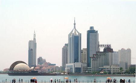 北京残奥会火炬接力途经城市:青岛