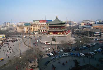北京残奥会火炬接力途经城市:西安