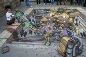 组图:超级推荐,最新3D街头艺术