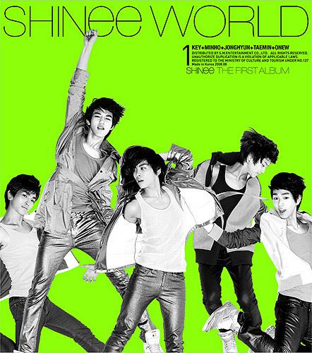 SHINee的首张专辑预售就达到了5万张