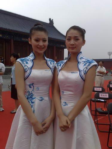 北京2008残奥会取火仪式现场礼仪