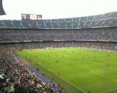 图文:08-09西甲20强主场 巴塞罗那诺坎普球场