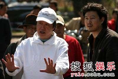 导演赵宝刚和王迎