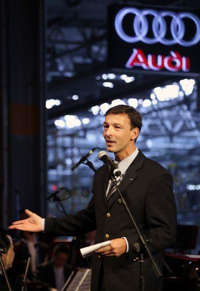一汽-大众奥迪销售事业部总经理安世豪先生