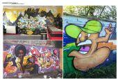 组图:原创嘻哈风格涂鸦展2