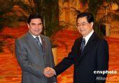 中国和土库曼斯坦发表联合声明(全文)(图)