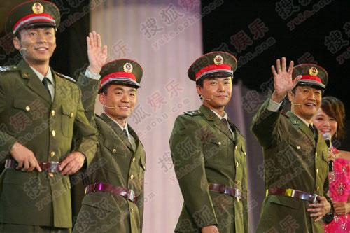王宝强感谢士兵迷们支持