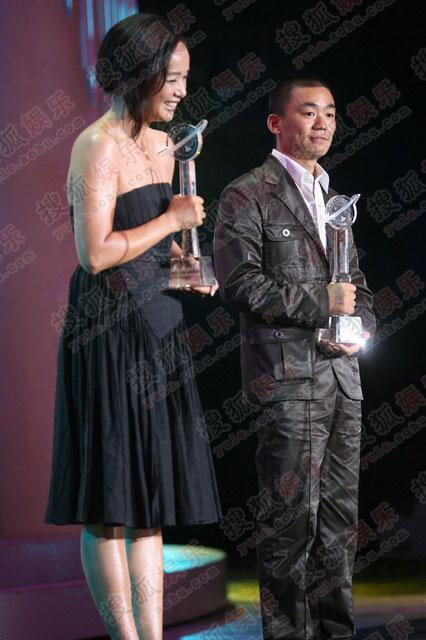 蒋雯丽获得最具人气女演员奖