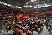 组图:残奥火炬武汉传递结束仪式现场气氛热烈