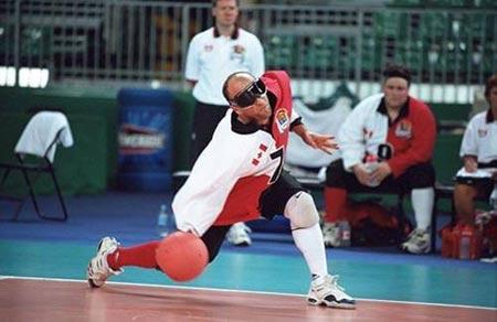 残奥门球往事介绍:竞赛规则盲人关之琳高尔夫球要点图片