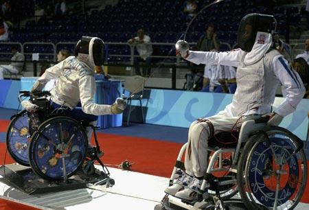 残奥会轮椅击剑的项目特征