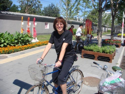 骑车去逛街