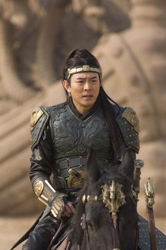 李连杰的秋王造型