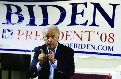 今年民主党总统预选中,拜登曾作尝试,后因首场预选成绩不佳而宣布退出。