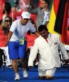 图文:残奥会开幕式入场仪式 墨西哥代表团