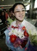 图文:王楠回沈阳筹备婚礼 满面幸福溢于言表