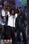 现场:Lil Wayne获得最佳Hip-Hop录影带奖