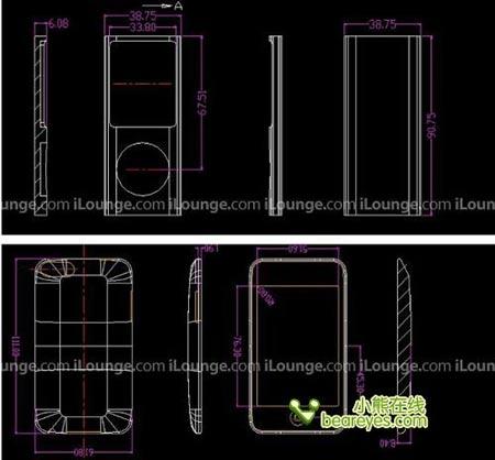 iPodnano4G、iPodtouch2G的设计图纸