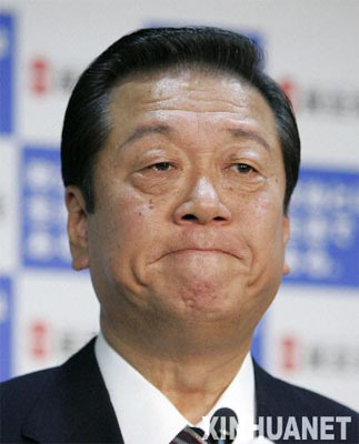 资料图片:小泽一郎。新华社/路透