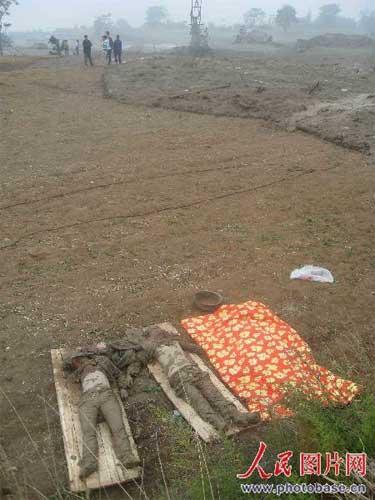 山西襄汾县一矿区发生泥石流 已发现有26人遇难