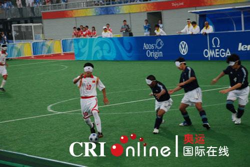 中国五人制足球队战胜阿根廷队取得两连胜