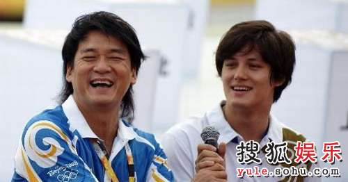 周华健儿子周厚安在奥运期间也被人熟知