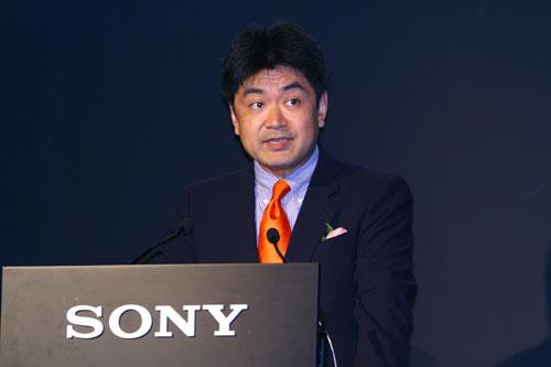 索尼中国有限公司消费营业本部总裁关口直树致辞