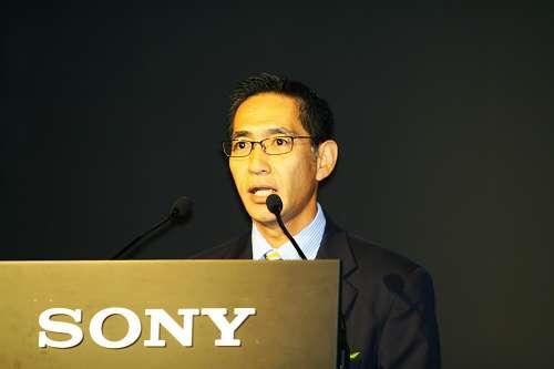 索尼公司数码影像事业部AMC部部长上野克彦致辞