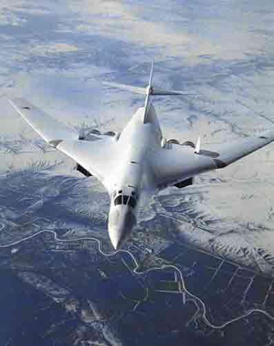 俄罗斯图-160战略轰炸机