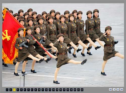 朝鲜60周年庆典,没有朝鲜人民军没有导弹没有金正日。(超超高清幻灯欣赏)