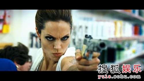 图:朱莉主演大片《通缉令》精美剧照- 8