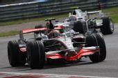 图文:F1意大利站第二次练习 科瓦莱宁在比赛中