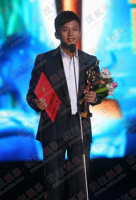 邓超获最佳男配角感言 给父母的中秋礼物