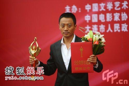 张涵予凭《集结号》获最佳男主角奖