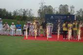 图文:青岛公开赛颁奖仪式 颁奖仪式现场
