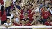 图文:[中超]河南1-2北京 球迷欢声一片