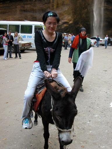 骑驴骑驴图片美女骑驴侯逸凡  竖