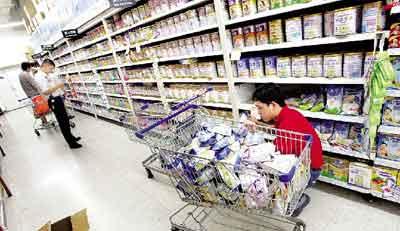 国内婴儿奶粉_京城超市问题奶粉下架 儿童医院开专门筛查门诊-搜狐新闻