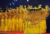 图文:北京残奥会闭幕式 满场金灿灿