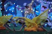 图文:北京残奥会闭幕式 轻歌曼舞