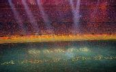 图文:北京残奥会闭幕式 场中央巨大字体
