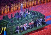 图文:北京残奥会闭幕式 伦敦文艺表演