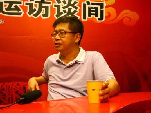 明基电通大中华区总经理洪汉青先生在访谈中