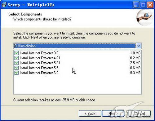 安装Multiple IE