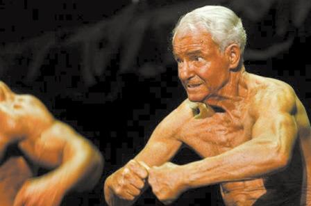 恋老网老汉相册图片-澳大利亚八旬老人当选美冠军 喜欢和年轻人一起图片