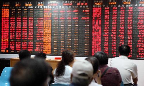 组图:沪深股市双双大幅高开