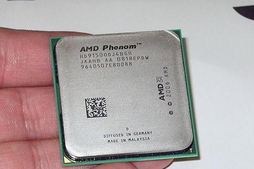 AMD最新羿龙9150E四核处理器