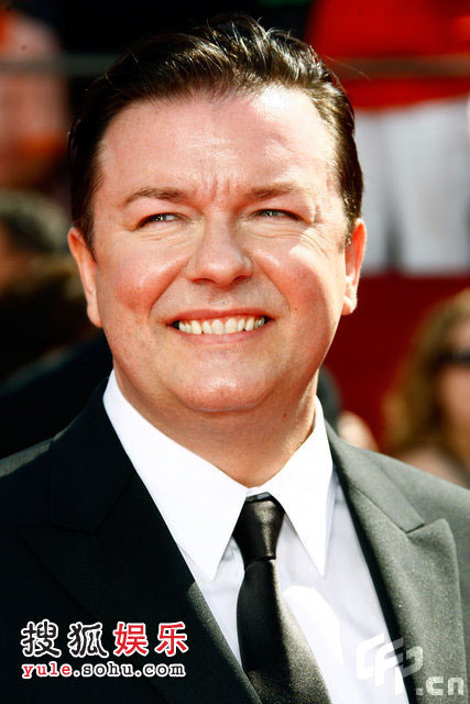 瑞奇-热尔维(Ricky Gervais)亮相
