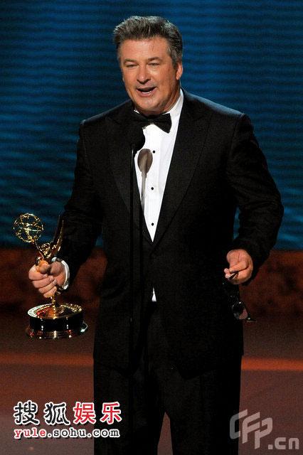 亚历克-鲍德温获得喜剧类最佳男主角