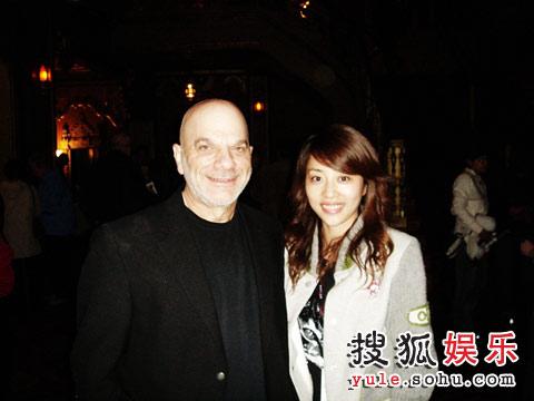 张龄心和雪城电影节主席